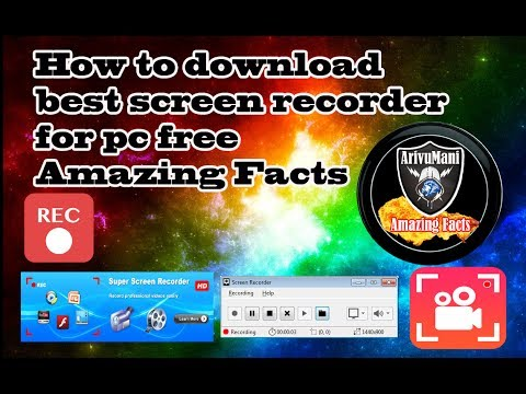 How to download best screen recorder for pc free  Amazing Facts