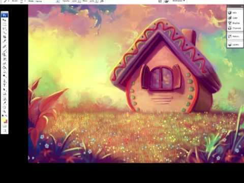 Digital painting sweet home youtube for Digitally paint your house