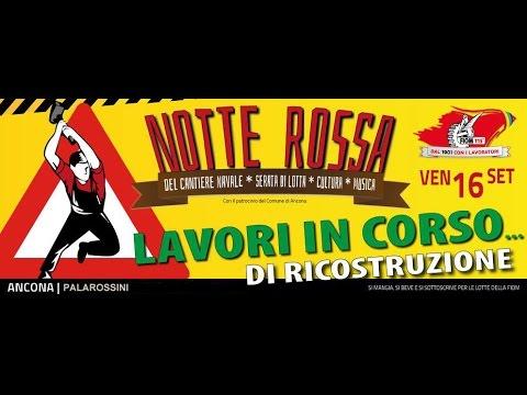 FIOM notte rossa 2016 Ancona