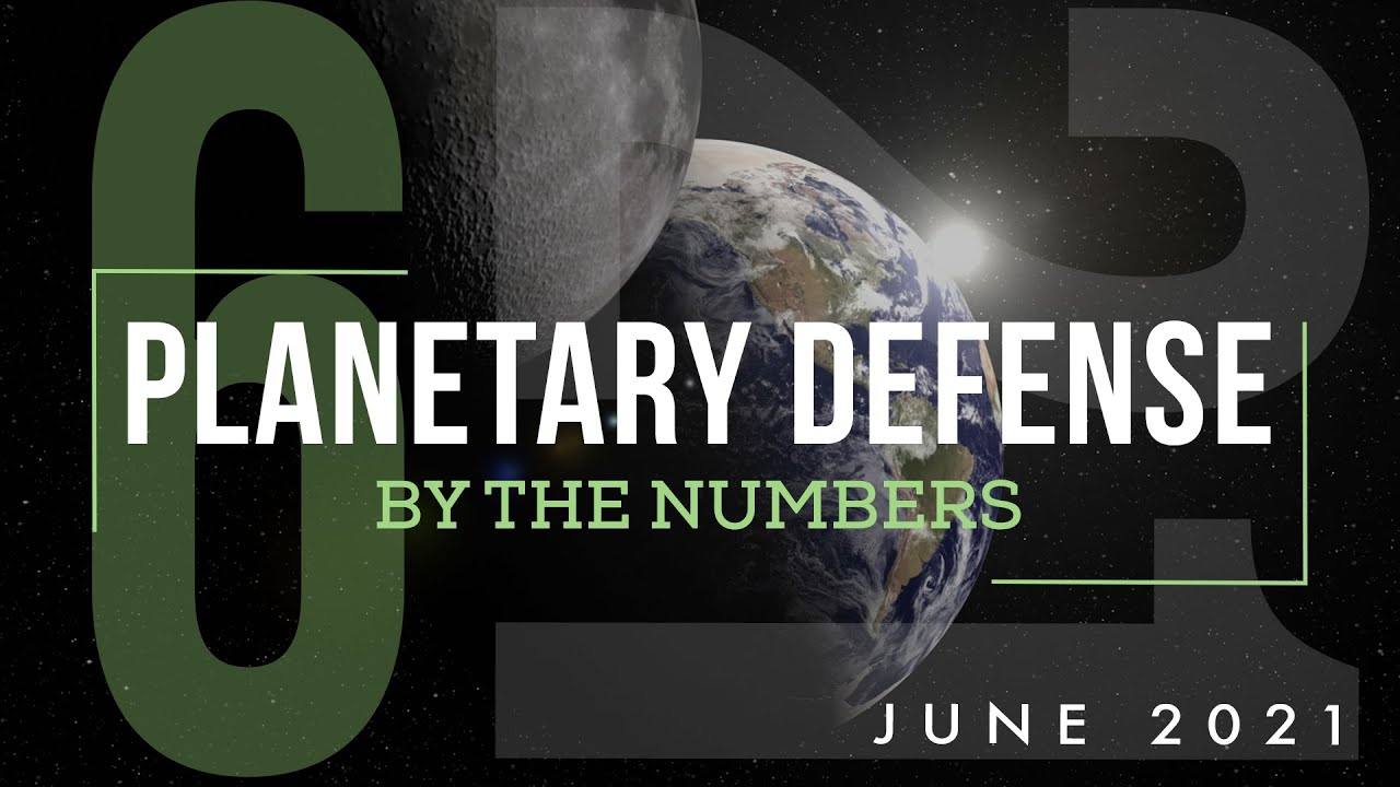 Planetary Defense: By the Numbers - June 2021