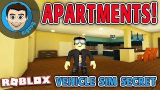How to get into the Secret Apartment in Roblox Vehicle Sim!