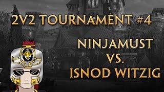 SmitegameDE 2v2 Tournament #4 - Finale - Ninjamustangjesus vs. iSnod Witzig