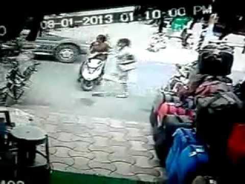 Amazing Comedy CCTV Video