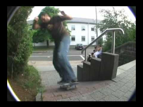 skateboarding Baumholder Germany
