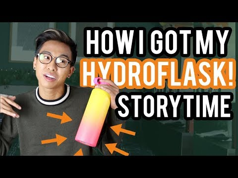 How I got my RARE limited edition Hydroflask (STORYTIME)