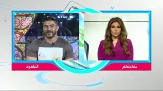 بالفيديو.. خالد سليم: سعدت بالعمل مع الزعيم  في «مأمون وشركاه»