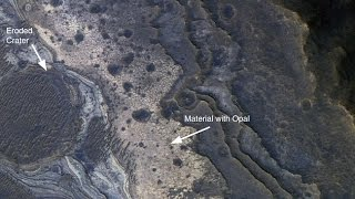 Could Martian GEMS contain fossilised aliens? Scientists say opal may hold the key to proving ..