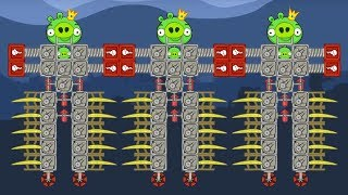 Bad Piggies - THE EXTREME GIANT ROBOT PIGGIES KICK ONE PIGGIES!