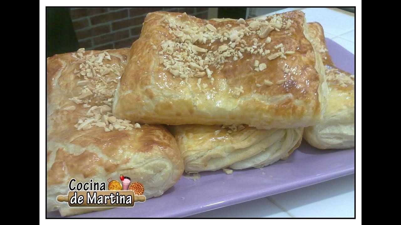 Napolitanas rellenas de crema recetas de cocina cocina for Cocina de martina