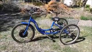 Meridian electric trike update & GPS Speed test
