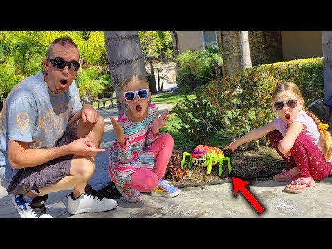 Ultimate Dissection Of Giant Alien Bug Caught Outside!!! Treasure X Alien Hunter Found!