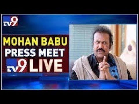 Manchu Mohan Babu Press Meet LIVE || Vijayawada - TV9