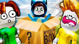 THE MYSTERIOUS BOX OF MY INVISIBLE FRIEND 2019 ARRIVED WITH BEBE VITA, MILO AND ADRI in ROBLOX ADOPT ME
