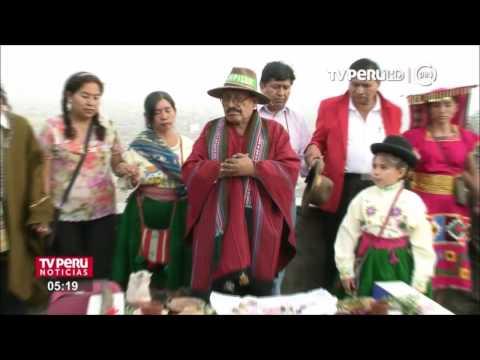 TV Perú y Radio Nacional lanzan Jiwasanaka, primer noticiero en aimara