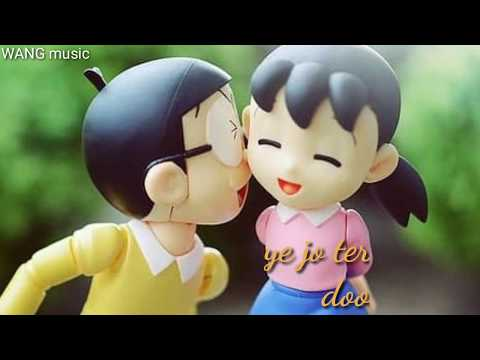 😍😍i-love-you😍😍-nobita-shizuka-cartoon♥️♥️-love-story,♥️♥️-whatsapp-status