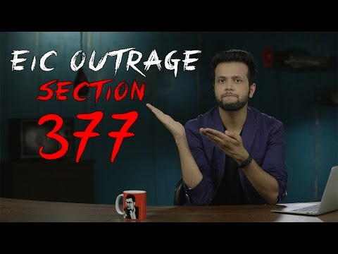 EIC Outrage: Section 377