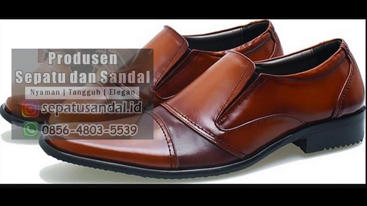 06 Jual Sepatu Ngantor Pantofel Pusat Kulit Wa Garsel L222 Sandal Casual Pria Premium Bagus Tan Youtube