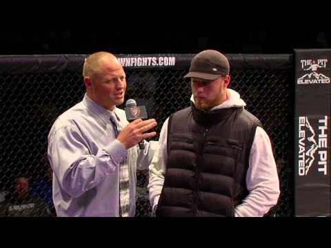 Paul Kruger Baltimore Ravens Interview at Showdown Fights Orem Utah