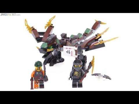 LEGO Ninjago Cole's (mini) Dragon review! 70599 - YouTube