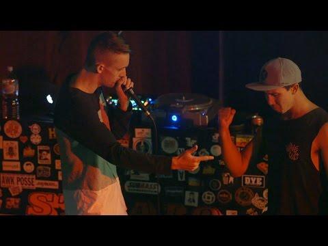 Rhett vs Joel Dunning / Top 16 - Australian Beatbox Championships 2016