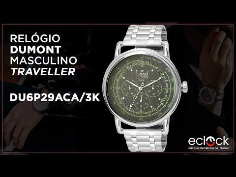 1014d18b427 Remix Relógio Dumont Masculino Traveller DU6P29ACA 3K - Eclock - Eclock  Relógios - vovoclip.com