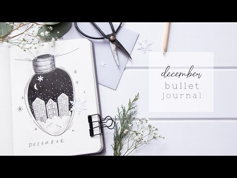 PLAN WITH ME | Dec 2018 Bullet Journal
