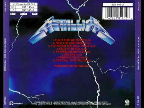 Metallica  Escape Ride The Lightning