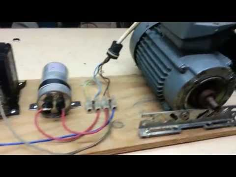 How To Do It Run A 3 Phase Motor On Single Phase Suppl Doovi