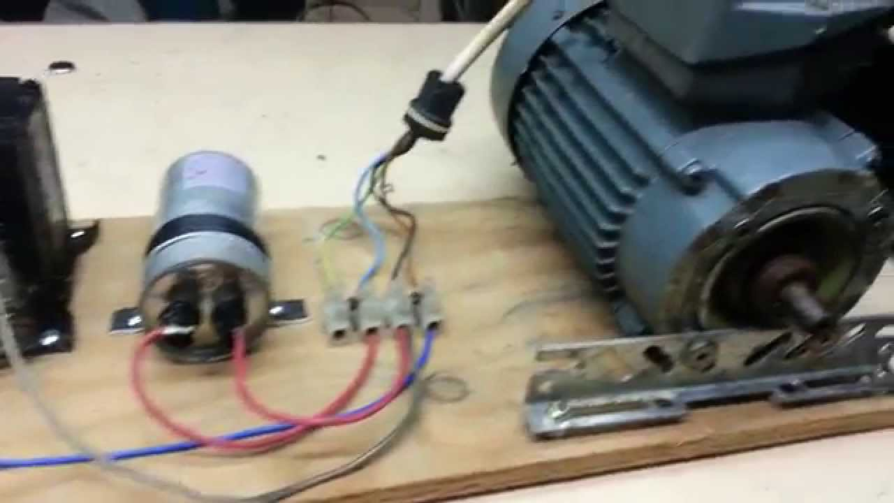 Single Phase Capacitor Run Motor Wiring Diagram 98 Ford Mustang Running A Three 480 Volt On 120 - Youtube