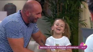 Berki elolvadt: Nati élő adásban köszöntötte apák napja alkalmából - tv2.hu/fem3cafe