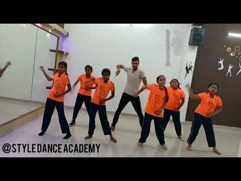 Top To Bottom Ganchali ||Full Dance Video By Style Dance Academy||Simple Dance Routine For Beginners