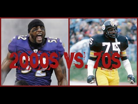 NFL ALL DECADE TOURNAMENT - WHAT IF - 2000s vs. 70s