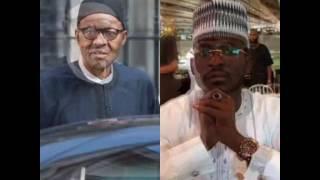 Sakon Barka da Sallah daga bakin Shugaba Muhammadu Buhari daga London a yau da safennan .
