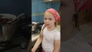 Кулинария#Шоколадный фондан#учимся готовить#домашнее видео #канал для детей