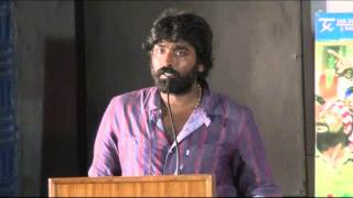 Hero Vijay Sethupathi at Idharkuthane Aasaipattai Balakumara Press Meet