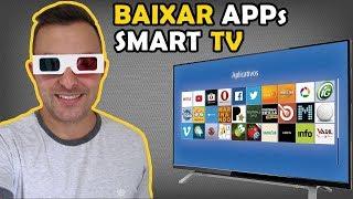 Como Baixar/Instalar Aplicativos na Smart TV