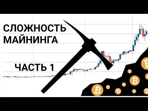 Сложность майнинга криптовалюты: что это? как влияет на доходность? (часть 1)