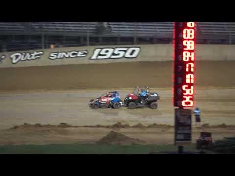 Lawrenceburg Speedway Indiana Midget Week A Main Pt 1  6-8-19