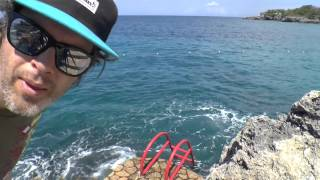 Waking up at the Rockhouse Negril Jamaica 2015