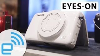 canon PowerShot N100 at CES 2014  Engadget