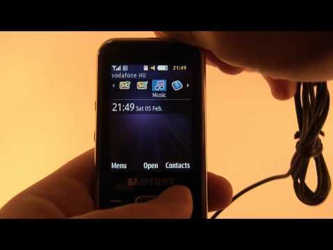 Samsung C3530 bemutató
