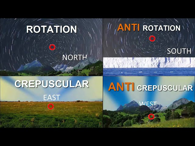 Anti Crepuscular Sun Rays are KEY to Southern Star Rotation FLAT EARTH perspective