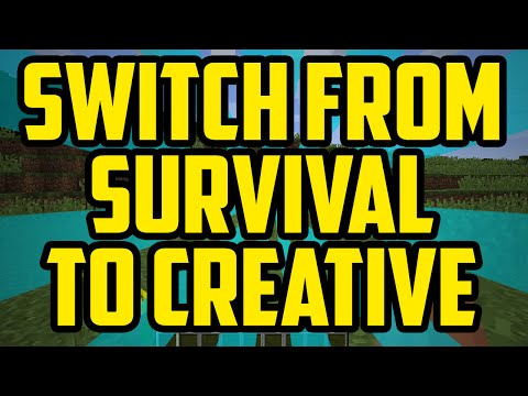 How To Switch From Survival To Creative Mode In Minecraft Quick Easy