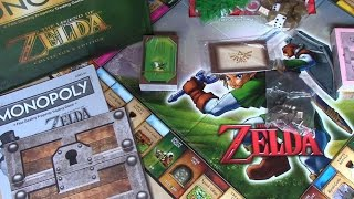 Legend of Zelda Monopoly Collector