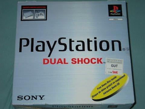 Sony PlayStation 1 Fat Распаковка