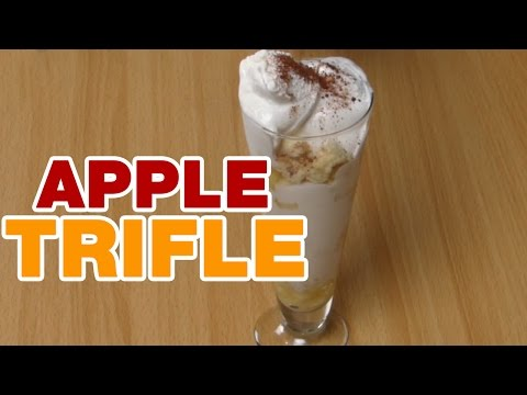 Easy Recipe for Apple Trifle