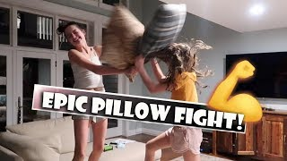Epic Pillow Fight 💪 (WK 370.2)   Bratayley