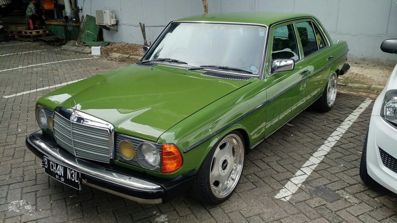 In Depth Tour Mercedes Benz 200 W123 Tiger 1986 Indonesia Youtube