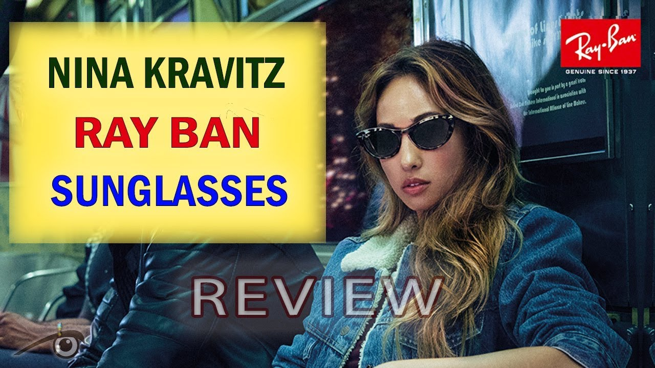 e24f95a554ccb Rayban Nina Cateye sunglasses RB4314 fashion 2019 - YouTube