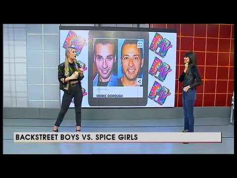 Micro MTV - Backstreet Boys vs Spice Girl
